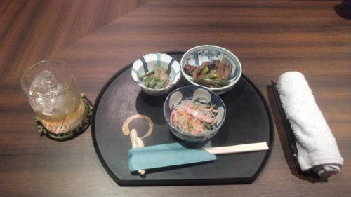 【笹塚】カラオケスナック バディーお通し画像